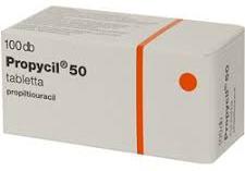 препарат Пропицил 50 мг №100