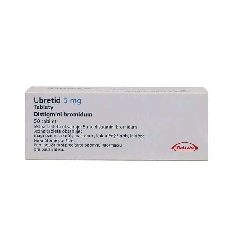 препарат Убретид / Ubretid / Дистигмин 5 мг №50