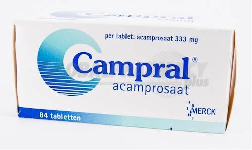 препарат Кампрал / Campral / Акампросат 333 мг №84