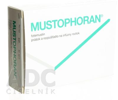 препарат Мюстофоран / Mustophoran / Фотемустин 200 мг/4 мл №1