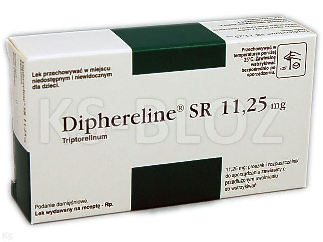 препарат Диферелин 11,25 мг (Dipherelin)