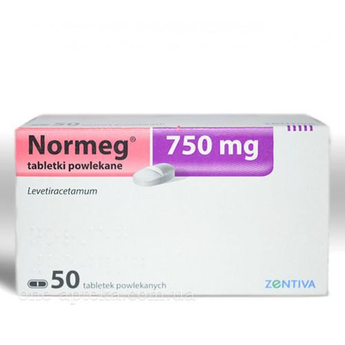 препарат Нормег / Normeg / Леветирацетам 250/500/750 мг