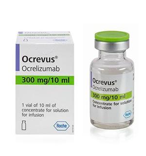 препарат Окревус 300 мг/10 мл