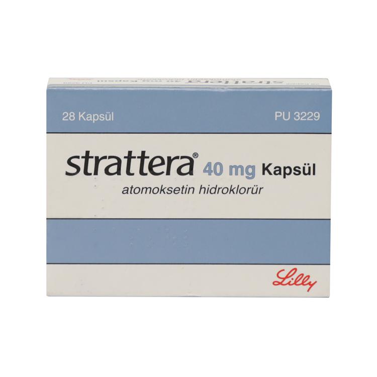 препарат Страттера 40 мг №28