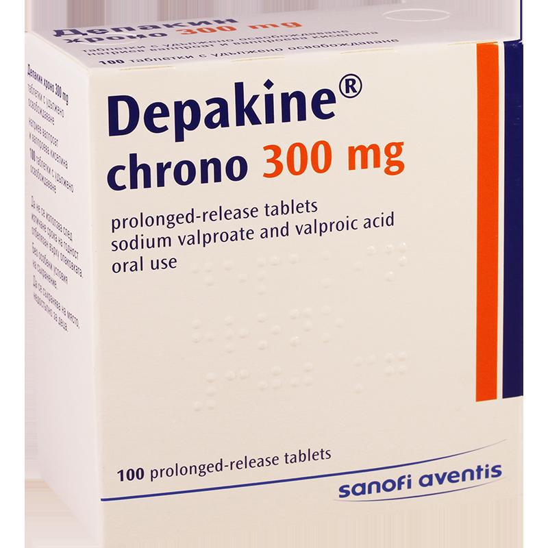 препарат Депакин хроно