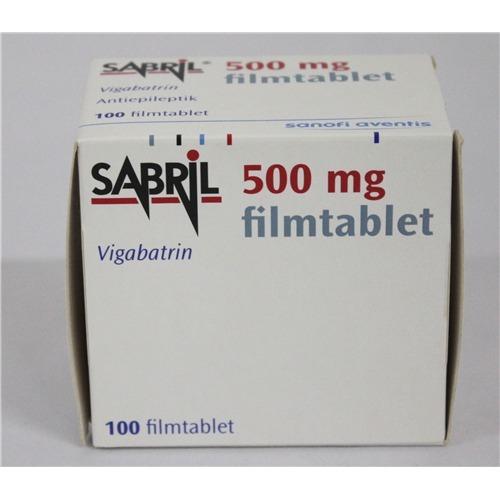 препарат Сабрил / Sabril / Вигабатрин 500 мг №100