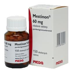 препарат Местинон / Mestinon / Пиридостигмин 60 мг №150