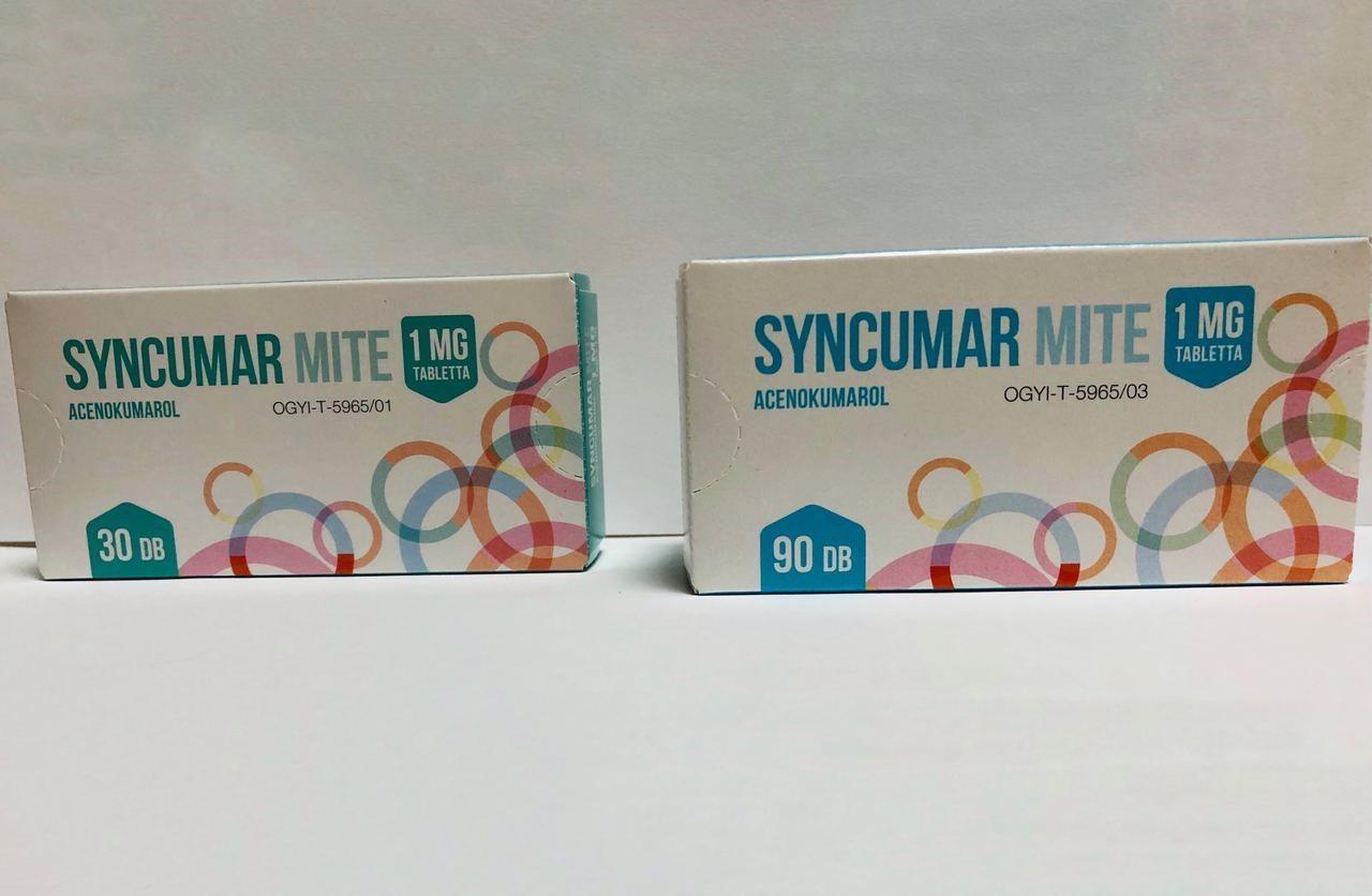 препарат Синкумар 1 мг
